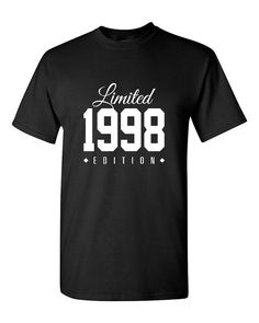 1998 Limited Edition Birthday 18th Birthday Party Shirt T-Shirt, 18 years old tshirt, gift for an 18 year old, 8th birthday party TH-188