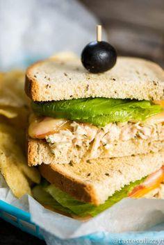 15 minute Three Cheese Tuna Melt Sandwiches