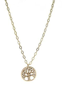 Little Tree of Life Necklace by Jami Rodriguez on @HauteLook