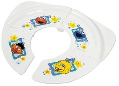 $10.00-$14.99 Baby Sesame Street Folding Travel Potty Seat - Ginsey Sesame Street Traveling/Folding PottyWhether going for groceries or going to see grandma, make sure your toddler stays on track with our Folding Travel Potty Seat. Practical and portable, it easily collapses for discreet transport in a diaper bag or tote. Non-slip rubber padding and a locking mechanism ensure stability. A sanita ...