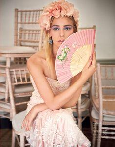 The Princess Wore Pastels: Vogue Japan Embraces Colorful Bridal Fashion