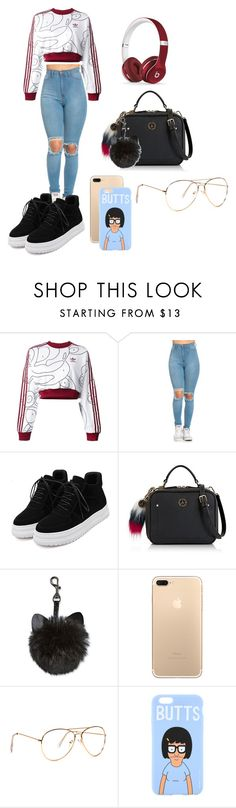 """summer look"" by jtownsend238 ❤ liked on Polyvore featuring adidas Originals, Tommy Hilfiger and Beats by Dr. Dre"
