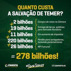 *Por Via Das Dúvidas*: Valores da Corrupção * Antonio Cabral Filho - RJ