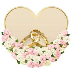 Rose Wedding, Wedding Rings, Wedding White, Wedding Ring Vector, Wedding Graphics, Wedding Cards Handmade, Baby Clip Art, Romantic Roses, Wedding Background