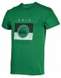 Quiksilver Mens Sanction Tee Green T-Shirt  $10.00