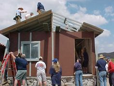 Adding details to the roof #nonprofit #charity
