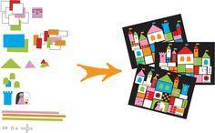 arts visuels maternelle, collage, activité artistique, le tout petit roi