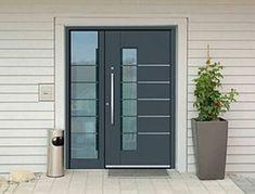Modern Entrance Door, Modern Front Door, House Entrance, Entrance Doors, Door Design Interior, Main Door Design, Gate House, House Doors, Composite Front Door