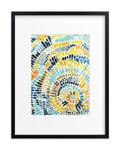 """""""Sun Drop"""" - Art Print by Holly Royval in beautiful frame options and a variety of sizes."""