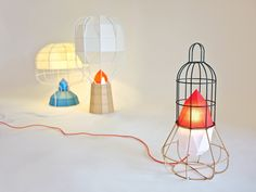 chieh ting huang: urban camper lighting objects