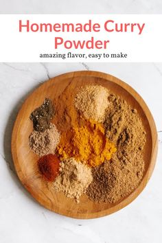 This delicious homemade curry powder is made with spices you already have in your pantry. Adjust the spice level to your preference and use in curries, soups, veggies, and more. This healthy condiment recipe from Slender Kitchen is MyWW SmartPoints compliant and is low carb, paleo, vegetarian and Whole30. #kidfriendly #makeahead #quickandeasy Good Healthy Recipes, Whole 30 Recipes, Healthy Cooking, Vegetarian Recipes, Cooking Recipes, Cooking Tips, Homemade Curry Powder, Spice Mixes, Spice Blends