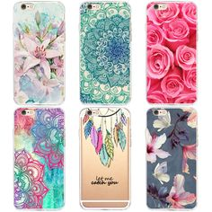 TPU Soft Cases For Apple iPhone6 6s Cases Transparent Printing Drawing Phone Cases Cover For IPhone 6 6S Silicone Phone Cases