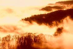 Free photo: Sunrise, Dawn, Fog, Haze, Mountains - Free Image on Pixabay - 1938970