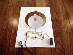 Coralie Gourguechon's Paper Speaker