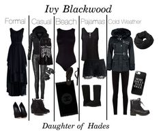 """""""Ivy Blackwood - Daughter of Hades"""" by anna-simpson-10 ❤ liked on Polyvore featuring Gucci, Steve Madden, Balmain, Chicwish, Charlotte Russe, Humble Chic, Giuseppe Zanotti, Chanel, Oye Swimwear and Red Herring"""
