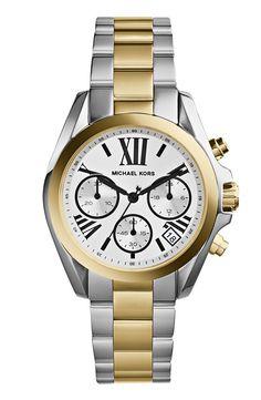 Michael Kors 'Bradshaw - Mini' Chronograph Bracelet Watch