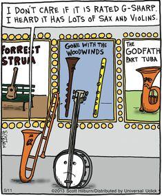 :-) Music Joke
