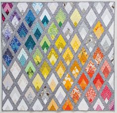 Quilting Projects, Sewing Projects, Quilting Ideas, Quilting Classes, Quilting Patterns, Sewing Ideas, Craft Projects, Triangles, Triangle Quilts