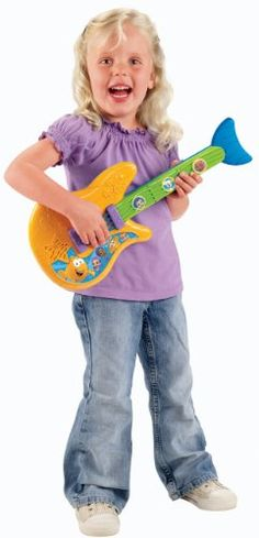 Fisher-Price Nickelodeon Bubble Guppies: Fin-Tastic Guitar, 2015 Amazon Top Rated Music & Sound #Toy