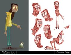 Nikolas Ilic: Designer / Visual Development Artist   Character Design