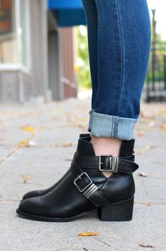Booties with Buckles | UOIOnline.com: Women's Clothing Boutique