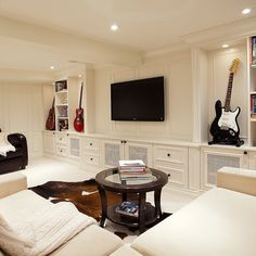 Guitar Display Home Design Ideas, Pictures, Remodel and Decor