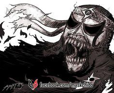 Pentagon Jr. Fan Art Lucha Underground. Lucha Libre AAA. Lucha Libre. Cero Miedo facebook.com/maskchido