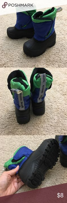 Like new baby boy winter boots My little one wore them once. It's in 'like new' condition. Northside Shoes Boots