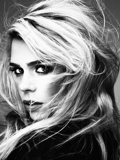 Billie Piper by Damon Baker for @TheSTStyle @RebeccaJade_w @Zoe James Taylor Makeup @halleybrisker @Jed Bowtell Root