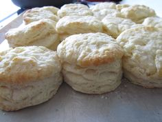 fluffy breakfast biscuits... Just made these and they are easy and good. :)