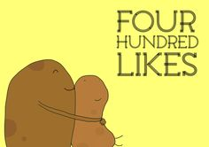 Thank you to all our 400 friends on Facebook!