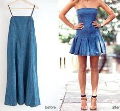 Aprende a hacer un vestido vaquero paso a paso para el verano