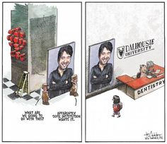 Editorial Cartoon | The Chronicle Herald - so sad in this day and age...