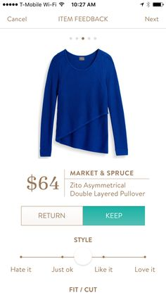 I love Stitch Fix! A personalized styling service and it's amazing!! Simply fill out a style profile with sizing and preferences. Then your very own stylist selects 5 pieces to send to you to try out at home. Keep what you love and return what you don't. Only a $20 fee which is also applied to anything you keep. Plus, if you keep all 5 pieces you get 25% off! Free shipping both ways. Schedule your first fix using the link below! stitchfix.com/referral/4932098