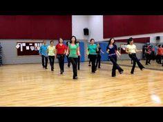 ▶ Ritmo - Line Dance (Dance & Teach in English & 中文) - YouTube