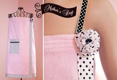tutorial to make this shower wrap-once again after I learn to sew! Sewing Hacks, Sewing Tutorials, Sewing Crafts, Sewing Projects, Sewing Patterns, Sewing Clothes, Diy Clothes, Clothes Refashion, Mothers Day Spa