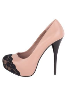 <3 Think I might try this...they have basic pumps at Charlotte Russe good for this project | Adding lace to stilettos!