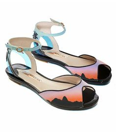 Sophia Webster  Palm Tree Sandals