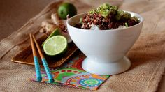 Serving Bowls, Food And Drink, Pudding, Asian, Drinks, Tableware, Desserts, Recipes, Poke Bowl