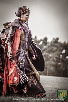2014 Conquest of Mythodea Best Of Armor Clothing, Medieval Clothing, Medieval Armor, Medieval Fantasy, Conquest Of Mythodea, Dystopia Rising, Fantasy Costumes, Larp Costumes, Renaissance Fair Costume