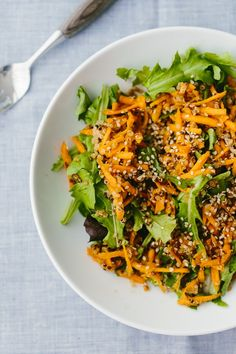 Ginger Carrot Salad with Quinoa