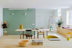 La Oficina más bonita de Malasaña | La Bici Azul: Blog de decoración, tendencias, DIY, recetas y arte