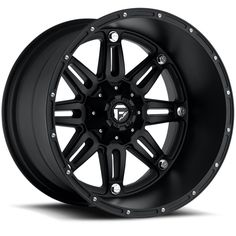 D531 - Hostage Deep Matte Black - Fuel Off-Road Wheels