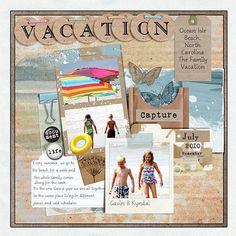 Vacation - Scrapbook.com