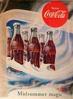 1953 Coca Cola ad.