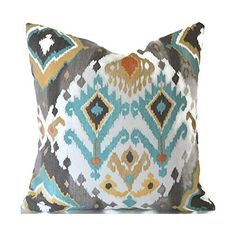 Outdoor Decorative Throw Pillow Cover Any Size OD Lavezzi Tahoe. Fabulous designer pillow covers! Cover your existing pillows with our high-quality pillow covers! This listing is for 1 pillow cover to fit your existing pillow insert. Fabric is a medium weight, 100% polyester. Pattern placement can vary. Zippers are sewn in the bottom seam for easy access and you can use both sides of your pillow cover. For a much better fit, we make our covers a bit smaller than your insert size. Choose…