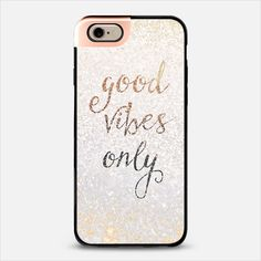 GOOD VIBES METALUX by Monika Strigel $50 Free shipping    Check out my new @Casetify using Instagram & Facebook photos. Make yours and get $10 off using code: QM2I9W