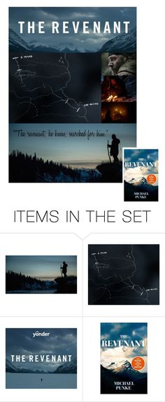 """""""The Revenant"""" by hangar-knjiga ❤ liked on Polyvore featuring art, movie, film, books, leonardodicaprio and therevenant"""