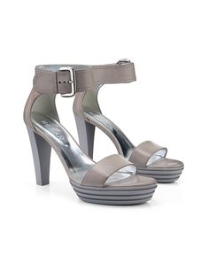 #HOGAN Women's Spring - Summer 2013 #collection: leather OPTY #sandals.