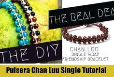Como hacer la Pulsera Chan Luu Single <sub>Nueva!</sub> - enrHedando